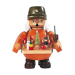 Räuchermänner Berufe Räuchermännchen Spielwarenverkäufer - 14 cm
