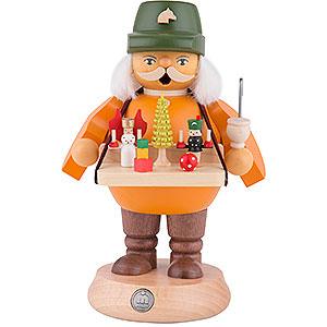 Räuchermänner Berufe Räuchermännchen Spielwarenverkäufer - 18 cm