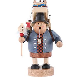 Räuchermänner Berufe Räuchermännchen Spielzeughändler - 23 cm