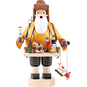 Räuchermänner Berufe Räuchermännchen Spielzeughändler - 35 cm