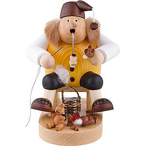 Räuchermänner Berufe Räuchermännchen Teddymacher - Kantenhocker - 18 cm