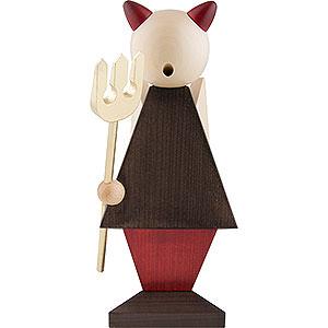 Räuchermänner Sonstige Figuren Räuchermännchen Teuflisch gut - 25 cm