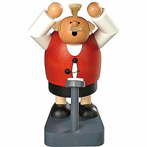 Räuchermänner Sonstige Figuren Räuchermännchen Übergewicht - 18 cm