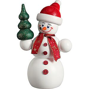 Räuchermänner Schneemänner Räuchermännchen Weihnachts-Schneemann - 15 cm