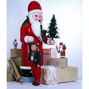 Räuchermänner XXL Räuchermännchen Räuchermännchen Weihnachtsmann - 220 cm