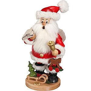 Räuchermänner Weihnachtsmänner Räuchermännchen Weihnachtsmann mit Geschenke - 22 cm