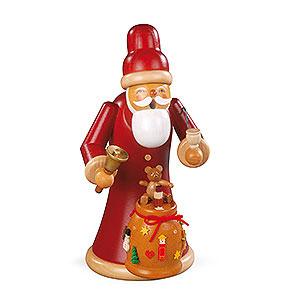 Räuchermänner Weihnachtsmänner Räuchermännchen Weihnachtsmann mit Geschenken - 23 cm