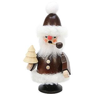 Räuchermänner Weihnachtsmänner Räuchermännchen Weihnachtsmann natur - 12,0 cm