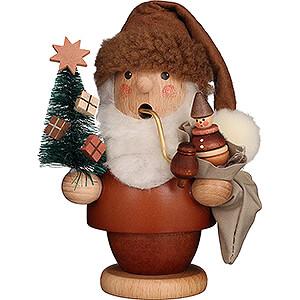 Räuchermänner Weihnachtsmänner Räuchermännchen Weihnachtsmann natur - 13 cm