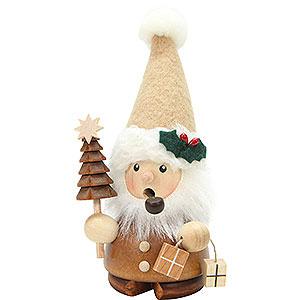 Räuchermänner Weihnachtsmänner Räuchermännchen Weihnachtsmann natur - 14 cm