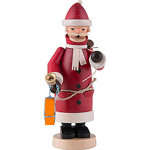 Räuchermänner Weihnachtsmänner Räuchermännchen Weihnachtsmann rot - 20cm