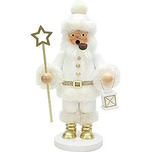Räuchermänner Weihnachtsmänner Räuchermännchen Weihnachtsmann weiß - 26 cm