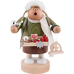 Räuchermänner Berufe Räuchermännchen Weihnachtsmarktverkäuferin - 20 cm