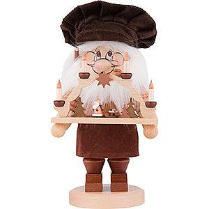 Räuchermänner Berufe Räuchermännchen Wichtel Schwibbogenbauer - 28 cm