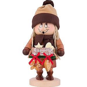 Räuchermänner Sonstige Figuren Räuchermännchen Wichtel Striezel Mädchen - 29 cm