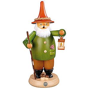 Räuchermänner Sonstige Figuren Räuchermännchen Wichtel mit Laterne - 25 cm