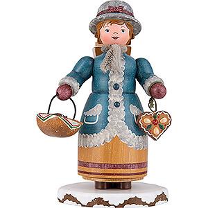 Kleine Figuren & Miniaturen Hubrig Winterkinder Räuchermännchen Winterkinder Lebkuchenhändlerin - 20 cm