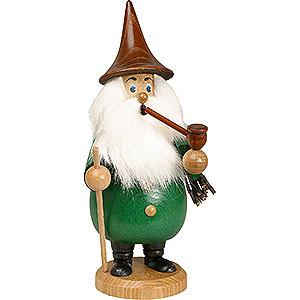 Räuchermänner Sonstige Figuren Räuchermännchen Wurzelzwerg grün - 19 cm