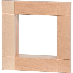 Räuchermänner Kantenhocker von KWO Rahmen für Kantenhocker, natur - 33 cm