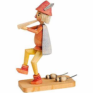 Kleine Figuren & Miniaturen Märchenfiguren Wilhelm Busch (KWO) Rattenfänger von Hameln - 7 cm