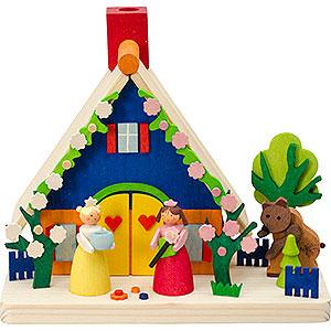 Räuchermänner Sonstige Figuren Rauchhaus Schneeweißchen und Rosenrot - 11 cm