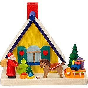 Räuchermänner Sonstige Figuren Rauchhaus Weihnachtsmann - 11 cm