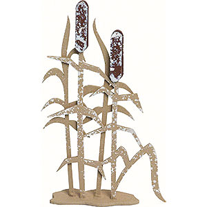 Small Figures & Ornaments Kuhnert Snowflakes Reed - Set of Three - 6 cm / 2.4 inch