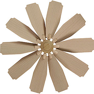 Christmas-Pyramids Accessories & Candles Replacement Wheel with Wings for Christmas Pyramid - Diameter = 25 cm / 10 inch