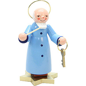 Small Figures & Ornaments everything else Saint Peter Blue - 9,0 cm / 4 inch
