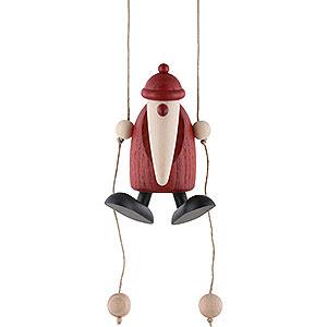Small Figures & Ornaments Björn Köhler Santa Claus small Santa Claus Climbing - 9 cm / 3.5 inch