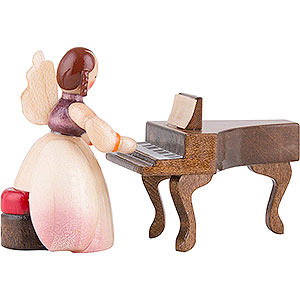 Angels Schaarschmidt Angels Schaarschmidt Angel with Spinet - 4 cm / 1.6 inch
