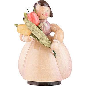 Small Figures & Ornaments Schaarschmidt Figurines Schaarschmidt Flower Child Tulip - 4 cm / 1.6 inch