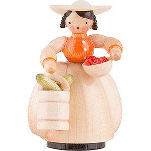 Kleine Figuren & Miniaturen Schaarschmidt Figuren Schaarschmidt Gärtnerin Gemüse - 4 cm