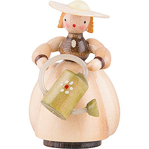 Small Figures & Ornaments Schaarschmidt Figurines Schaarschmidt Gardener with Watering Can - 4 cm / 1.6 inch