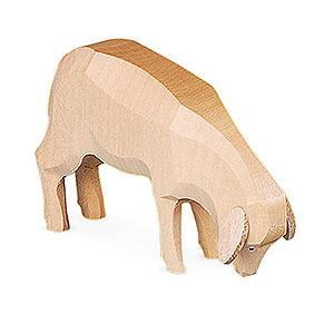 Kleine Figuren & Miniaturen Tiere Schafe Schafe geschnitzt - 5 cm