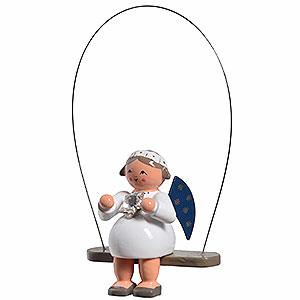Baumschmuck Engel Baumbehang Sonstige Engel Schaukelengel mit Stern - 8 cm