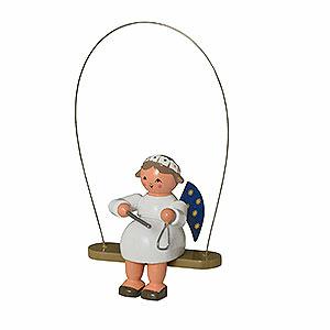 Baumschmuck Engel Baumbehang Sonstige Engel Schaukelengel mit Triangel - 8 cm
