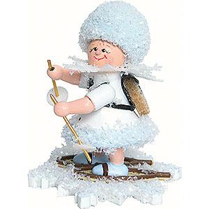 Kleine Figuren & Miniaturen Kuhnert Schneeflöckchen Schneeflöckchen Schneewanderer - 5 cm
