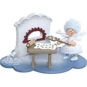 Kleine Figuren & Miniaturen Kuhnert Schneeflöckchen Schneeflöckchen in Weihnachtsbäckerei - 10x7x6 cm