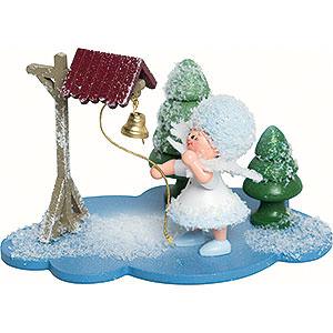 Kleine Figuren & Miniaturen Kuhnert Schneeflöckchen Schneeflöckchen mit Glocke- 10x7x6 cm