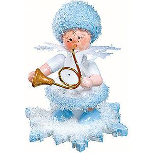 Kleine Figuren & Miniaturen Kuhnert Schneeflöckchen Schneeflöckchen mit Horn - 5 cm