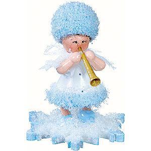 Kleine Figuren & Miniaturen Kuhnert Schneeflöckchen Schneeflöckchen mit Klarinette - 5 cm