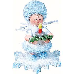 Kleine Figuren & Miniaturen Kuhnert Schneeflöckchen Schneeflöckchen mit Licht - 5 cm