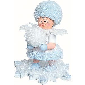 Kleine Figuren & Miniaturen Kuhnert Schneeflöckchen Schneeflöckchen mit Schneekugel - 5 cm