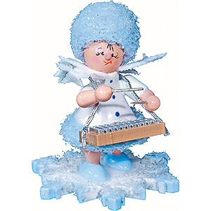 Kleine Figuren & Miniaturen Kuhnert Schneeflöckchen Schneeflöckchen mit Xylophon - 5 cm