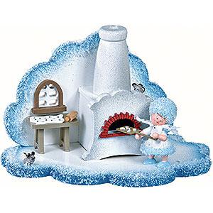 Kleine Figuren & Miniaturen Kuhnert Schneeflöckchen Schneeflöckchens Weihnachtsbäckerei - 14,5x8,5x9 cm