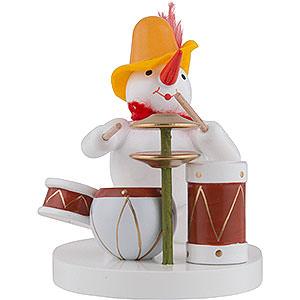 Kleine Figuren & Miniaturen Zenker Schneemänner Schneemann Schlagzeuger - 8 cm
