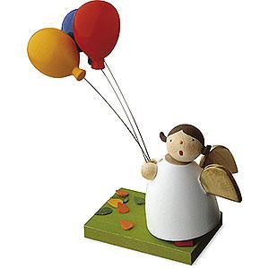 Weihnachtsengel Günter Reichel Schutzengel Schutzengel mit 3 Luftballons - 3,5 cm