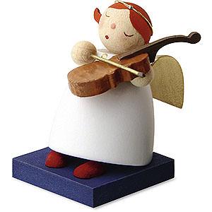 Weihnachtsengel Günter Reichel Schutzengel Schutzengel mit Geige - 3,5 cm