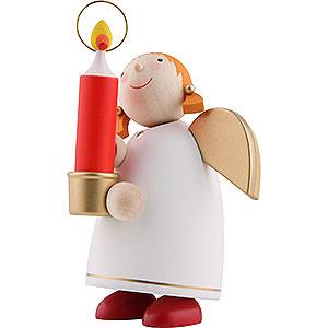 Weihnachtsengel Günter Reichel Schutzengel mittel Schutzengel mit Licht, weiss - 8 cm
